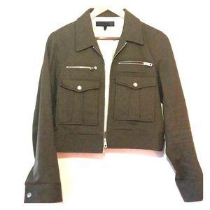 rag & bone army utility cropped jacket
